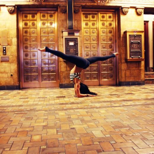 split yoga